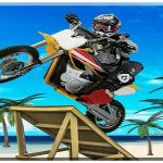 Beach Bike Stunts Game